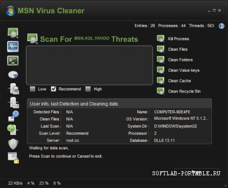 Msn Virus Cleaner 2.0.3.4 Portable