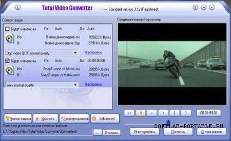 Total Video Converter 3.50 Portable