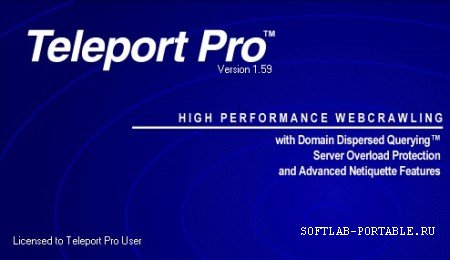 Teleport Pro 1.68 Portable