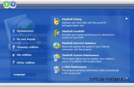 MindSoft Utilities XP 2009.20 Portable