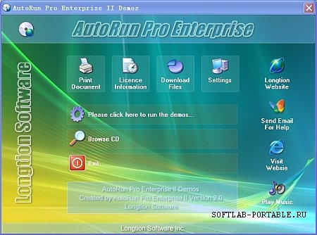 AutoRun Pro Enterprise II 4.0.0.62 Portable