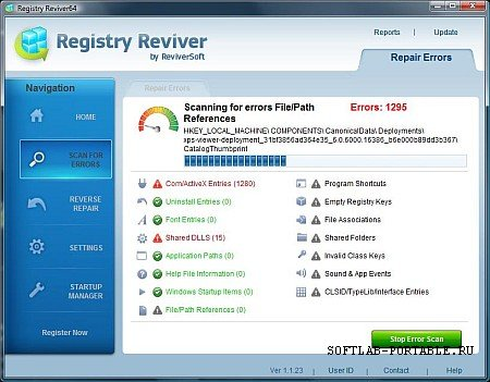 Registry Reviver 4.22.0.26 Portable