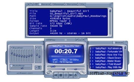 XMPlay 3.8.4 Portable