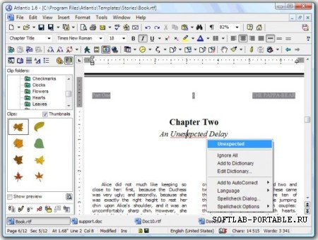 Atlantis Word Processor 4.0.0.1 Portable