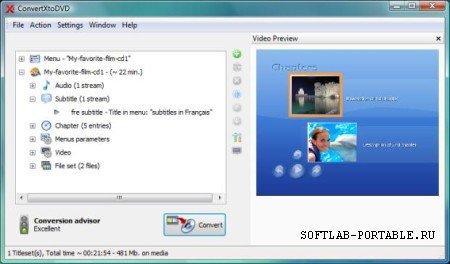 VSO ConvertXtoDVD 7.0.0.68 Portable