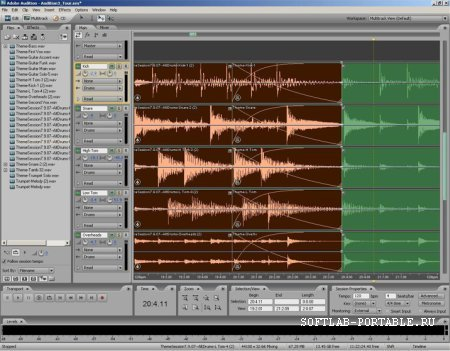 Adobe Audition CС 13.0.1.35 Portable