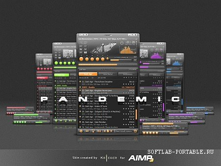 AIMP Audio Player 4.60.2144 Final Portable