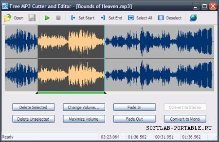 MP3 Cutter and Editor 2.8.0.1805 Portable