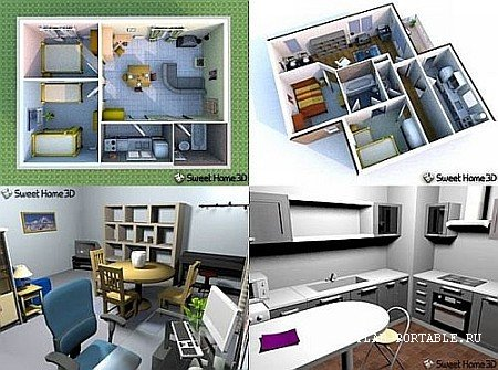 Sweet Home 3D 6.4.2 Portable