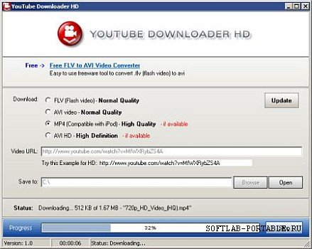 YouTube Downloader HD 2.9.9.59 Portable