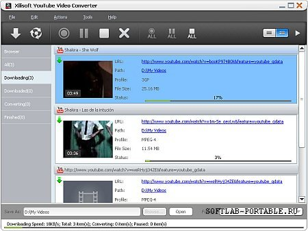 Xilisoft YouTube Video Converter 5.6.9 Portable