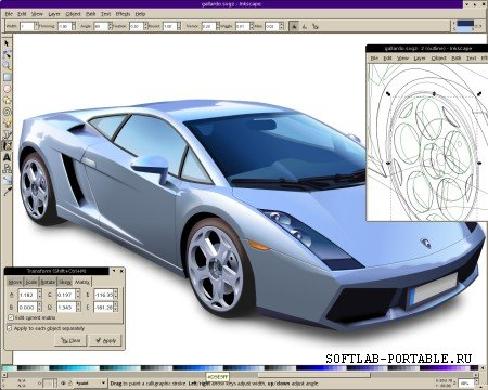 Inkscape 1.0.1 Portable