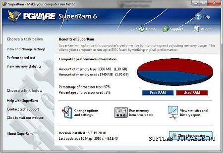 PGWARE SuperRam 7.3.29.2021 Portable