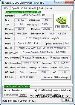 GPU Caps Viewer 1.46.1.0 Portable