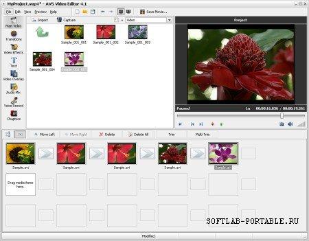 AVS Video Editor 9.2.1.349 Portable