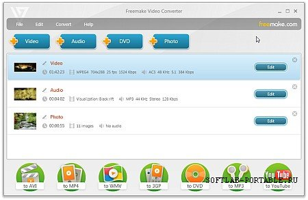 Freemake Video Converter 4.1.10.416 Portable