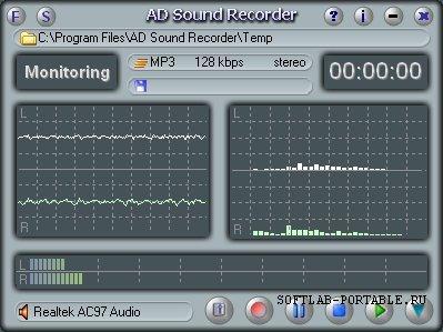 Adrosoft AD Sound Recorder 5.7.5 Portable