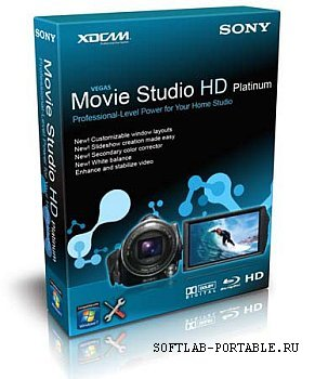 Sony Movie Studio Platinum 13.0.955 / Vegas Pro 13.0.453 Portable