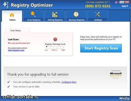 WinZip Registry Optimizer 4.22.1.6 Portable