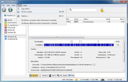 qBittorrent 4.2.5 Portable