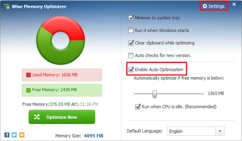Wise Memory Optimizer 3.66.110 Portable