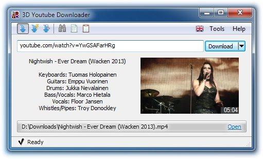 3D Youtube Downloader 1.19.1 Portable