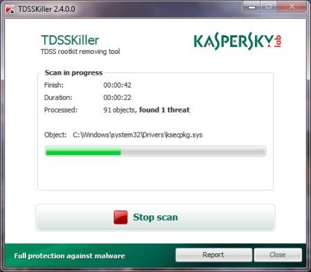 Kaspersky TDSSKiller 3.1.0.28 Portable